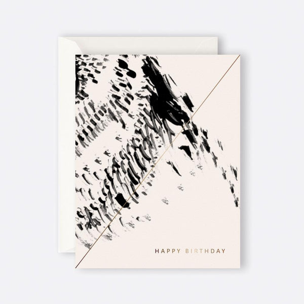 Father Rabbit Stationery | BIRD PATTERN HAPPY BIRTHDAY