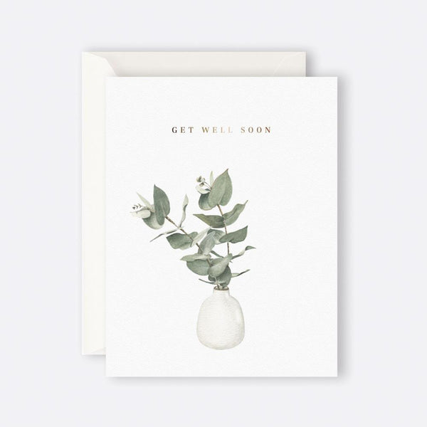 Father Rabbit Stationery | EUCALYPTUS GET WELL SOON