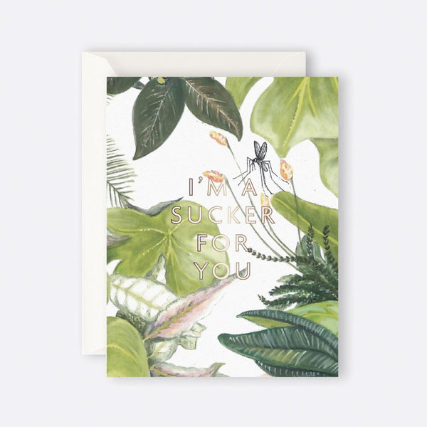 Father Rabbit Stationery | BOTANICAL I'M A SUCKER FOR YOU
