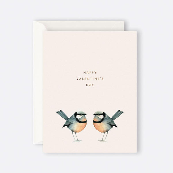 Father Rabbit Stationery | HAPPY VALENTINE'S DAY BIRDS