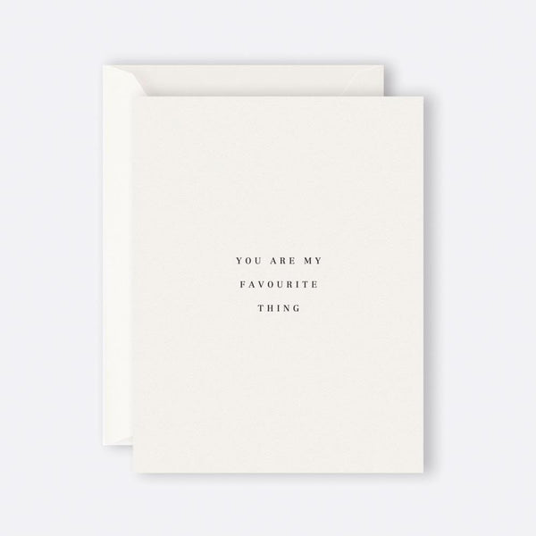 Father Rabbit Stationery | Card | YOU ARE MY FAVOURITE THING