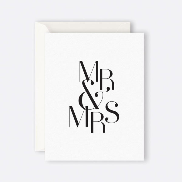 Father Rabbit Stationery | Card | MR & MRS