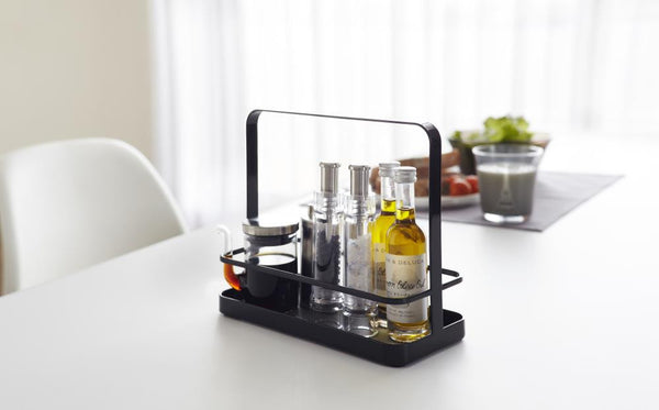 Yamazaki | Tower Seasoning Rack - Black