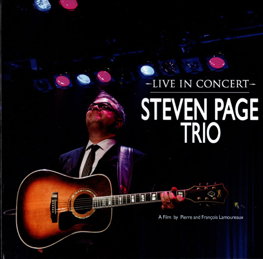 Steven Page Trio Live In Concert DVD