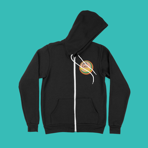 Steven Page Zip-up Hooded Sweatshirt