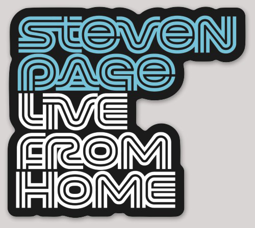 Steven Page Live From Home Sticker