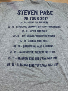 Page Silhouette 2017 UK Tour T-Shirt