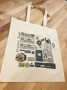 Tote Bag - Discipline Cover Art Illustration