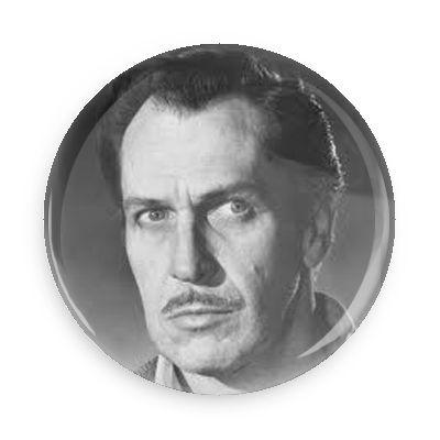 Vincent Price Button - TheOriginalUnderground