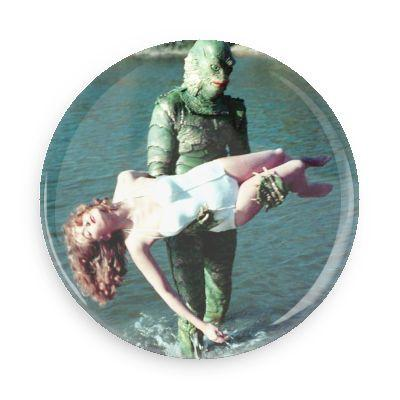 Creature From the Black Lagoon Button - TheOriginalUnderground