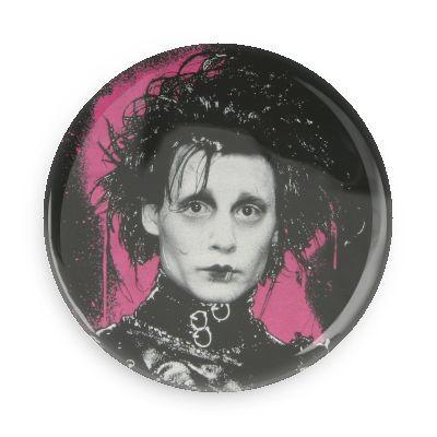 Edward Scissorhands Button - TheOriginalUnderground