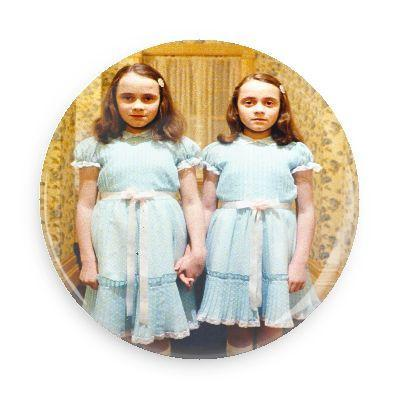 The Shining Twins Button - TheOriginalUnderground