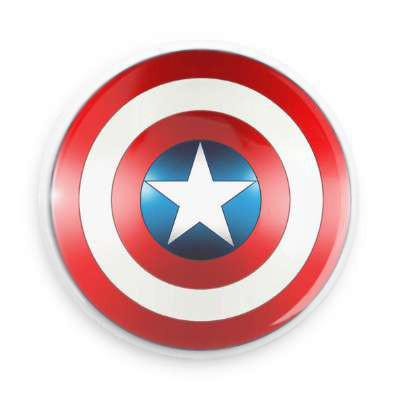Capt. America Button - Falstaff Trading / Nerd culture, Horror, B-movies, cult classic - uniquely cool / falstafftrading.com