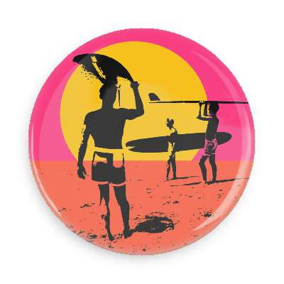 Endless Summer Button - Falstaff Trading