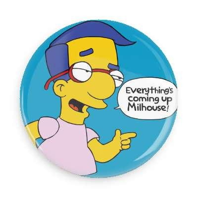 Milhouse Button - TheOriginalUnderground