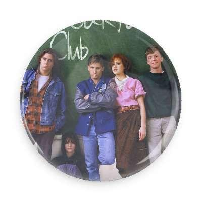 The Breakfast Club Cast Photo  Button - TheOriginalUnderground