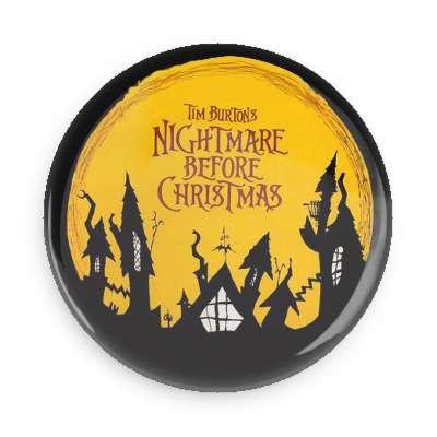 Nightmare Before Christmas Button - TheOriginalUnderground