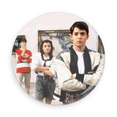 Ferris Bueller's Day Off Button - TheOriginalUnderground