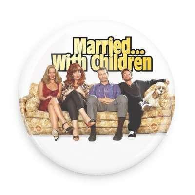 Married with Children Button - Falstaff Trading