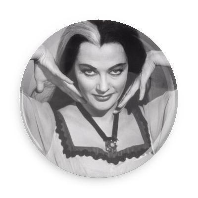Lily Munster Button - TheOriginalUnderground