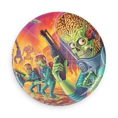 Mars Attack Button - TheOriginalUnderground