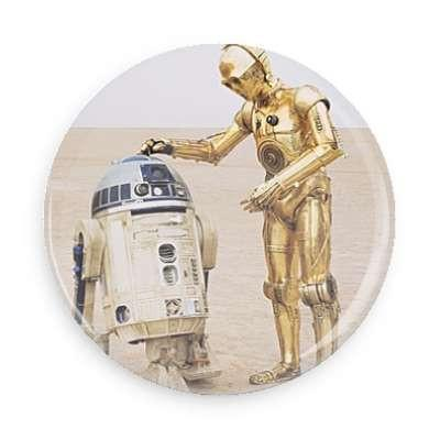 R2D2 and C3PO Button - TheOriginalUnderground