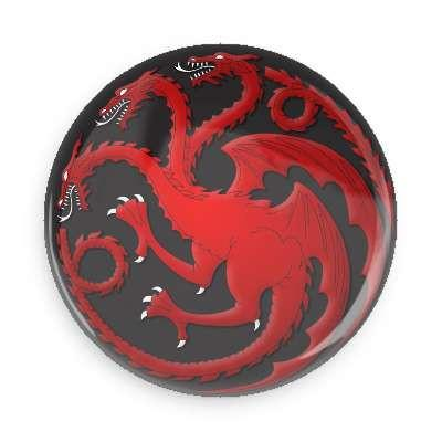 Game of Thrones House Targaryen Button - TheOriginalUnderground