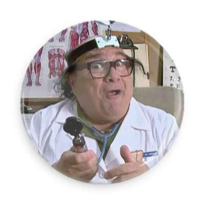 Doctor Mantis Toboggan Button - TheOriginalUnderground