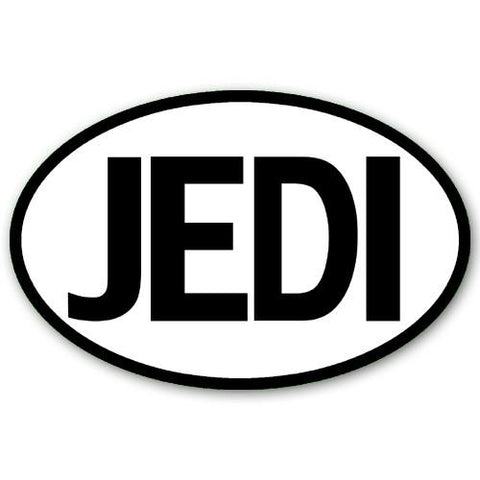 Jedi Sticker - Falstaff Trading