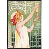 """Absinthe Robette"" by Alphonse Mucha Print - Falstaff Trading / Nerd culture, Horror, B-movies, cult classic - uniquely cool / falstafftrading.com"