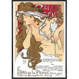 """Salon des Cent"" by Alphonse Mucha"