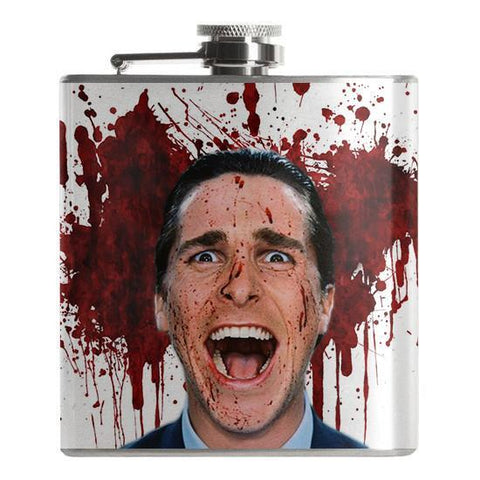 American Psycho Flask - Falstaff Trading / Nerd culture, Horror, B-movies, cult classic - uniquely cool / falstafftrading.com