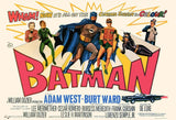 1966 Batman Film Poster Print - The Original Underground / theoriginalunderground.com