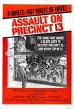 Assault on Precinct 13 Film Poster Print - Falstaff Trading / Nerd culture, Horror, B-movies, cult classic - uniquely cool / falstafftrading.com
