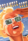 Atlantic City 1940 Travel Poster Print - Falstaff Trading / Nerd culture, Horror, B-movies, cult classic - uniquely cool / falstafftrading.com