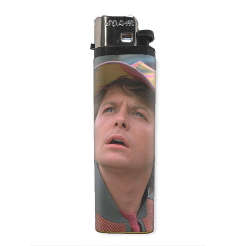 Back to the Future Marty McFly Lighter - Falstaff Trading / Nerd culture, Horror, B-movies, cult classic - uniquely cool / falstafftrading.com