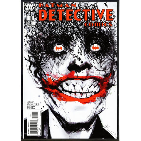 Batman Detective Comics No. 880 Cover Print - Falstaff Trading / Nerd culture, Horror, B-movies, cult classic - uniquely cool / falstafftrading.com