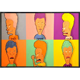 Beavis and Butthead Warhol Print - Falstaff Trading / Nerd culture, Horror, B-movies, cult classic - uniquely cool / falstafftrading.com