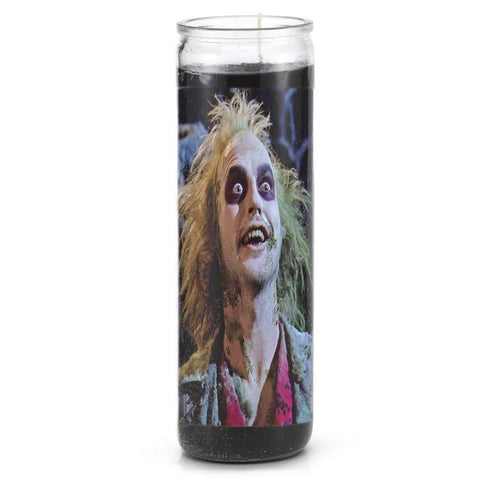 Beetlejuice Prayer Candle - Falstaff Trading / Nerd culture, Horror, B-movies, cult classic - uniquely cool / falstafftrading.com
