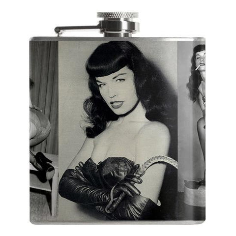 Bettie Page Flask