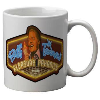 Biff Tannen Casino Mug - Falstaff Trading / Nerd culture, Horror, B-movies, cult classic - uniquely cool / falstafftrading.com