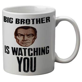 Big Brother Mug - Falstaff Trading / Nerd culture, Horror, B-movies, cult classic - uniquely cool / falstafftrading.com
