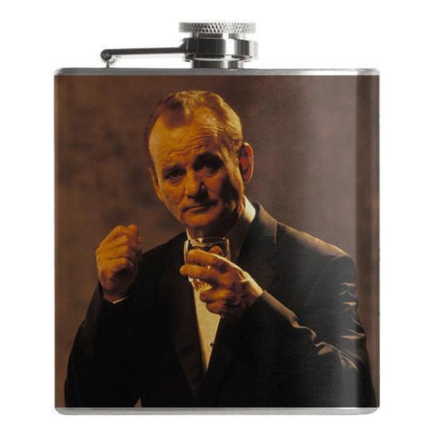 Bill Murray Flask - Falstaff Trading / Nerd culture, Horror, B-movies, cult classic - uniquely cool / falstafftrading.com