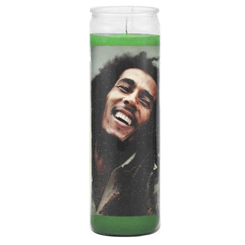 Bob Marley Prayer Candle - Falstaff Trading