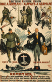 British Empire Union Propaganda Poster Print - Falstaff Trading / Nerd culture, Horror, B-movies, cult classic - uniquely cool / falstafftrading.com
