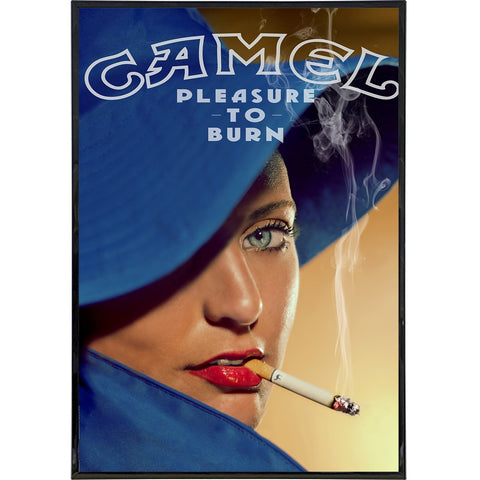"Camel ""Pleasure to Burn"" Ad Print"
