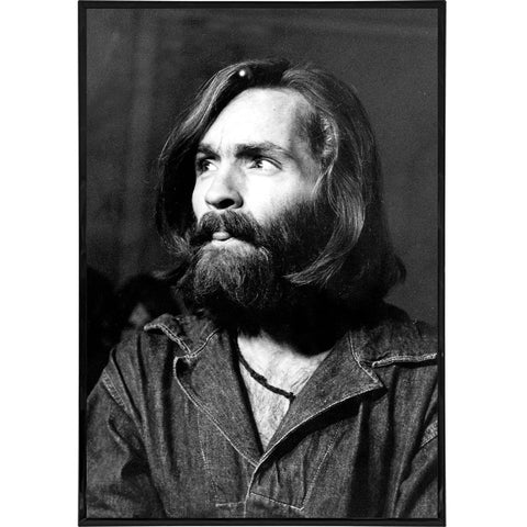 Charles Manson Photo Portrait Print