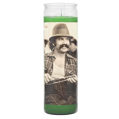 Cheech Marin Prayer Candle - Falstaff Trading / Nerd culture, Horror, B-movies, cult classic - uniquely cool / falstafftrading.com