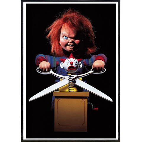 "Child's Play ""Scissors"" Film Poster Print"