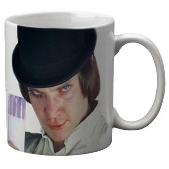 Clockwork Orange Mug - Falstaff Trading / Nerd culture, Horror, B-movies, cult classic - uniquely cool / falstafftrading.com